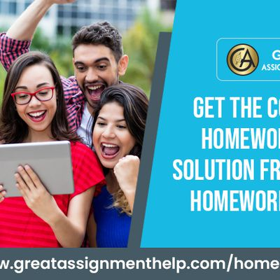 Get the Complete Homework Help Solution From Expert Homework Helper
