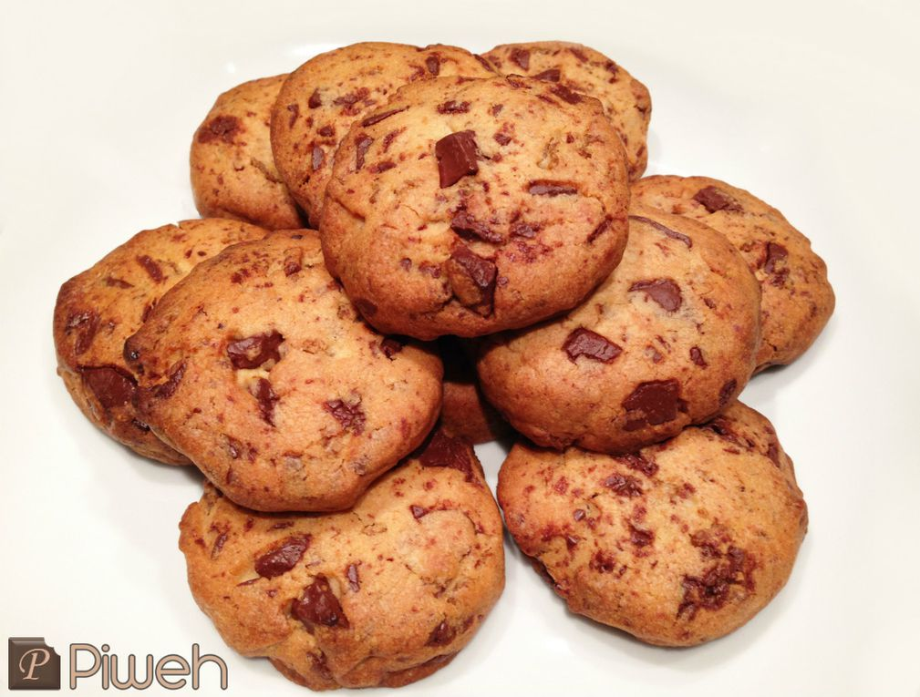 Cookies crunchy au chocolat