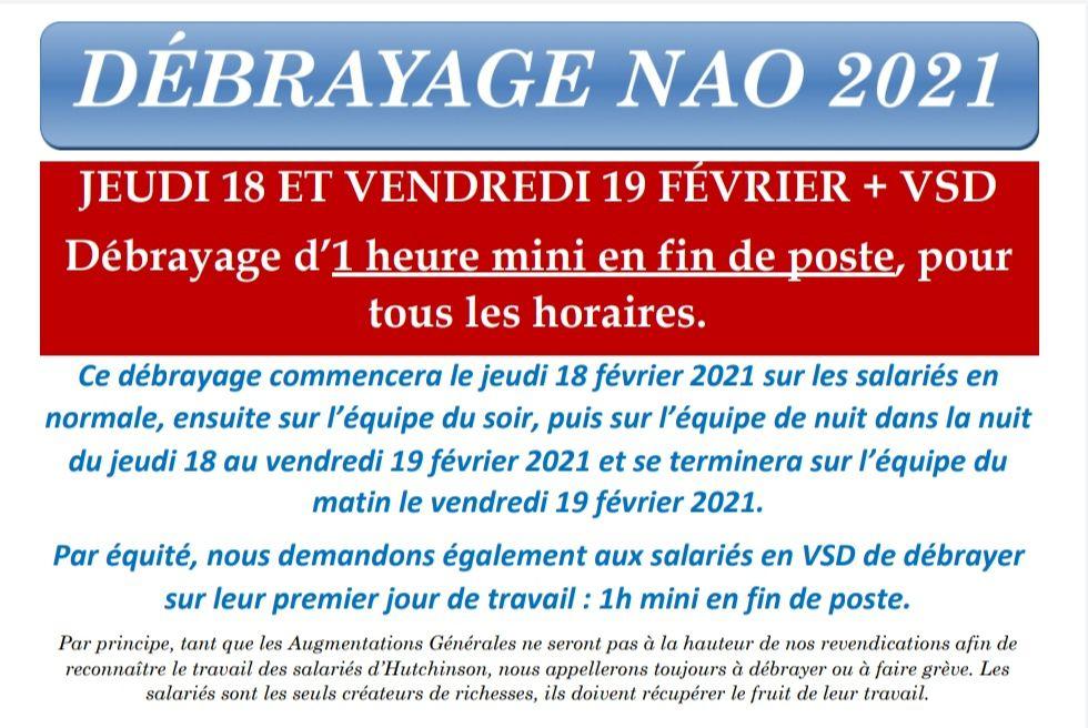 NAO 2021- Réunion 2 : Des Augmentations de Salaires et des Avancées Sociales pour ceux et celles qui veulent rester dans le Groupe !