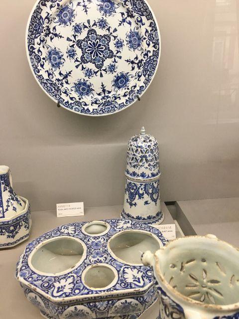 Camaieux bleus musée céramique Rouen