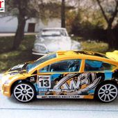 CITROEN C4 RALLY HOT WHEELS 1/64. - car-collector.net: collection voitures miniatures