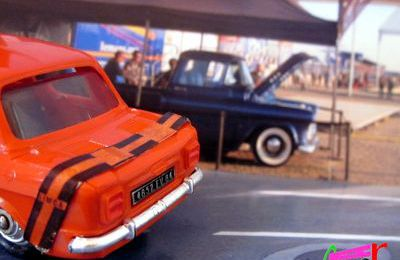 SIMCA 1000 RALLYE ORANGE LES MINIATURES DE NOREV 1/43.
