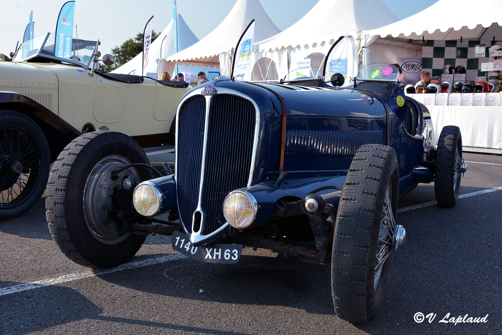 Delahaye 135, Le Vigeant 2020, 26eme Sport et Collection.