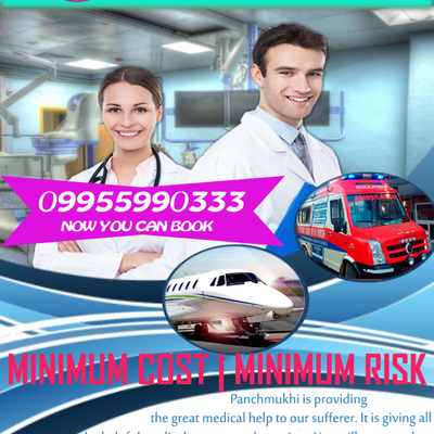 Relocate Made Easy By Panchmukhi Air Ambulance Service in Indore