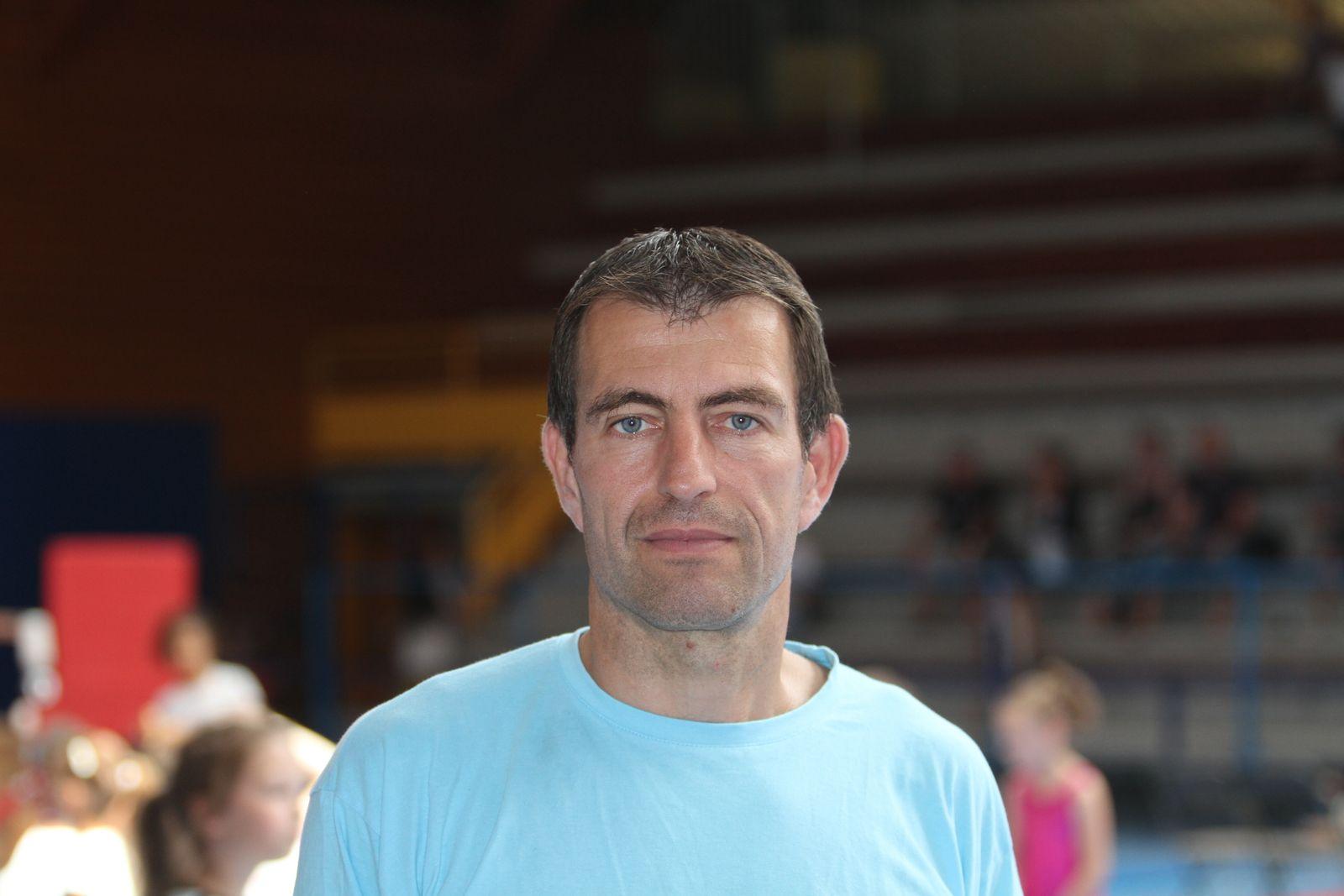 Fabrice Cantaluppi président du CMOV Gymnastique danse et trampoline