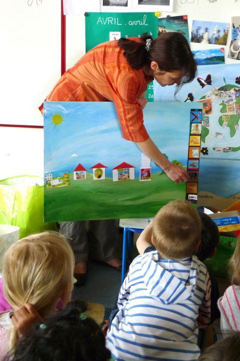 ACTIONS auprès des enfants