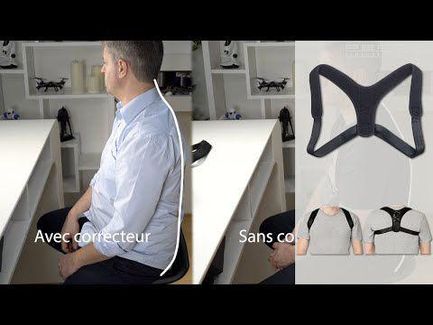 Test de 2 modèles de harnais correcteur de posture pour le dos - redresser le dos