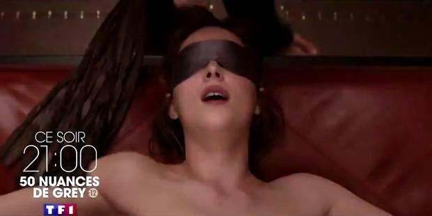 TF1 coupe les scènes les plus hot de 50 nuances de Grey et se fait allumer