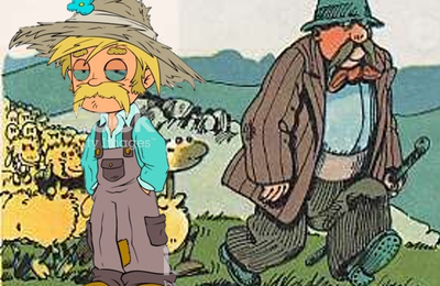 Les apparences sont trompeuses !!! : Les bergers.