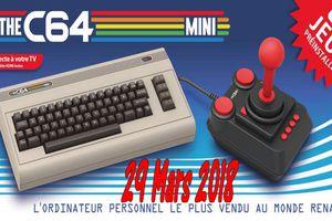 Le C64 Mini sortira ce 29 Mars 2018 !