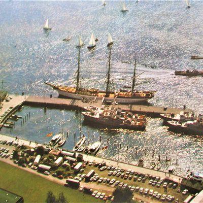 Marinezeit 1969/1970 auf dem Segelschulschiff Gorch Fock ,Heimathafen Kiel