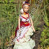 tuto gratuit Barbie : robe longue Caraïbes 2 - Chez Laramicelle