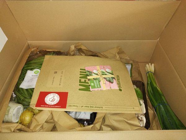 livraison box alimentaire Hello Fresh @ Tests et Bons Plans - crédit images: Hello Fresh