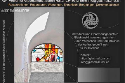 Glaskunst im Interieur