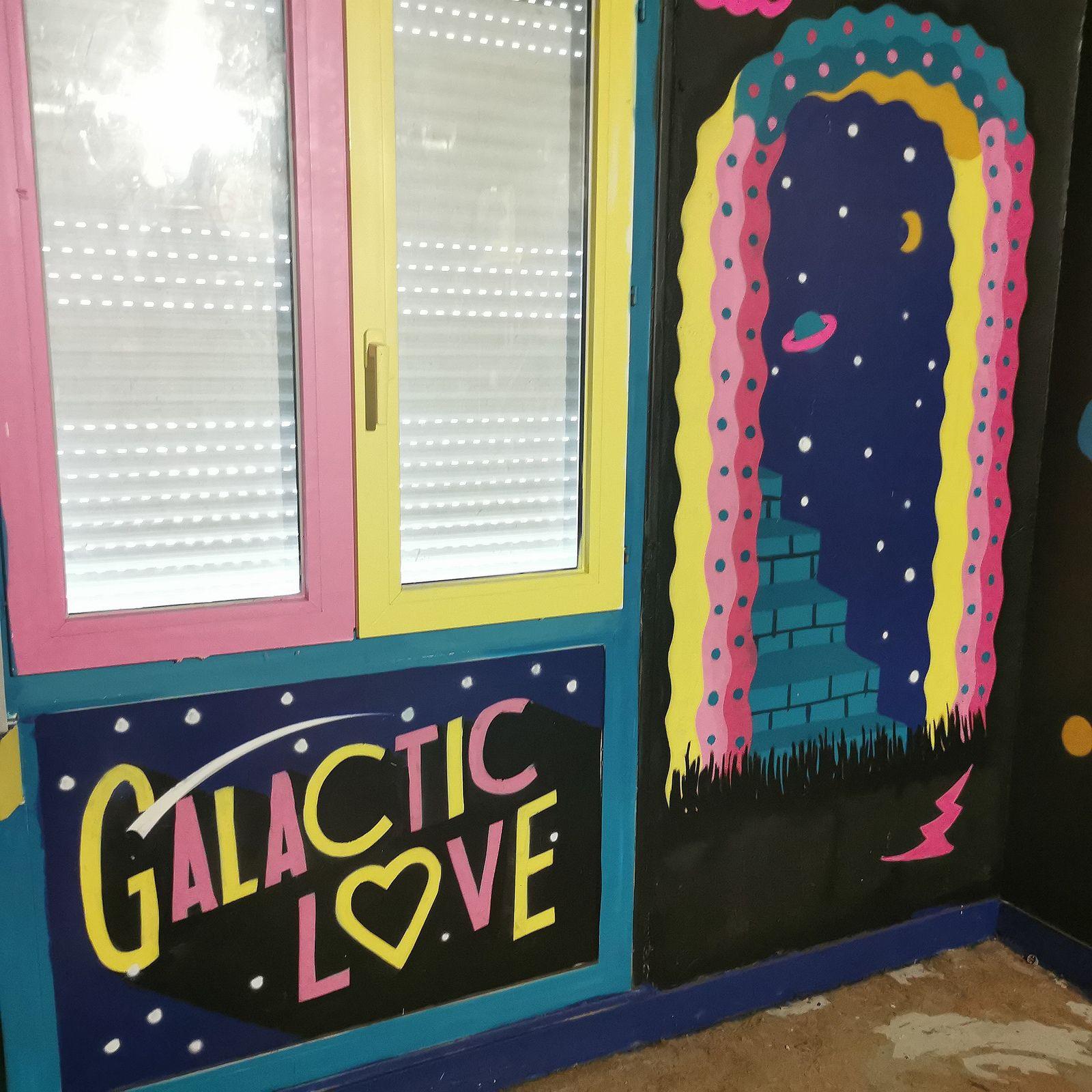 Transition, street art éphémère à Abbeville