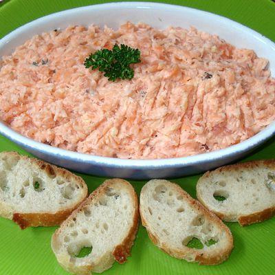 Les fameuses rillettes de saumon