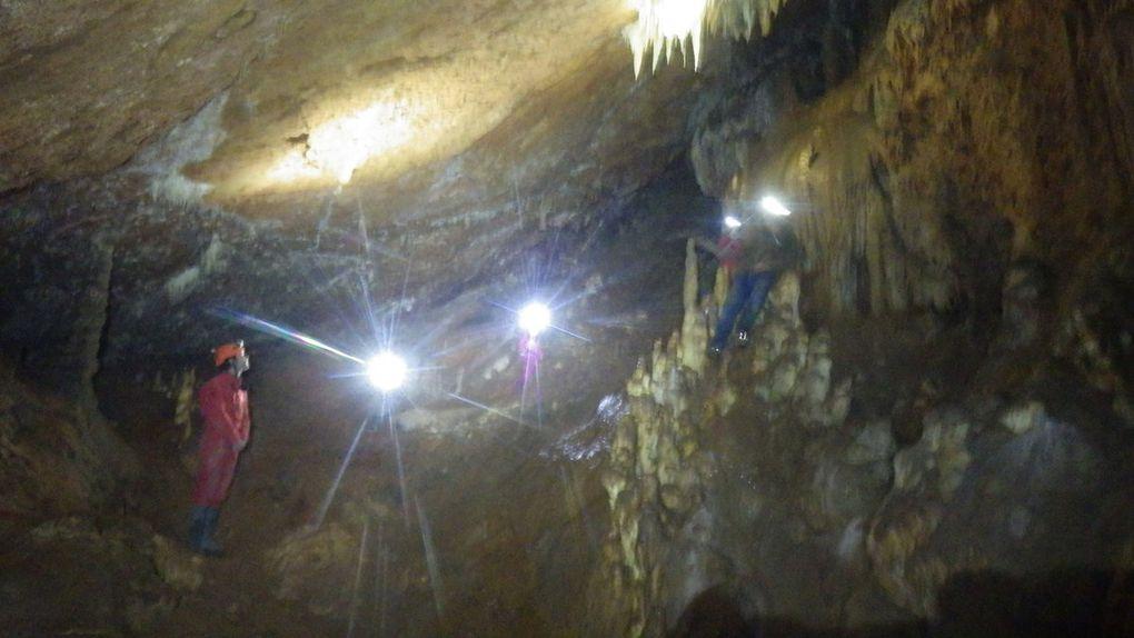 Première sortie spéléo à la grotte du vieux Mounoï (plateau de Signes) - Dimanche 22/01/2017