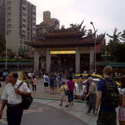 Snake Alley and Longshan-Temple