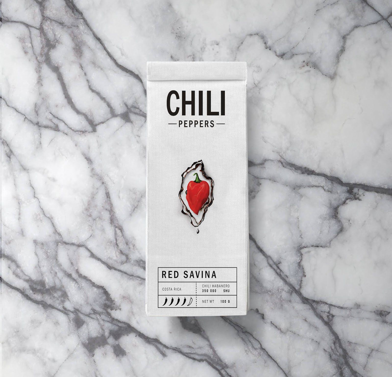 Chilli peppers (gamme de piments)  I Design (concept) : Anabom, Russie (octobre 2020)