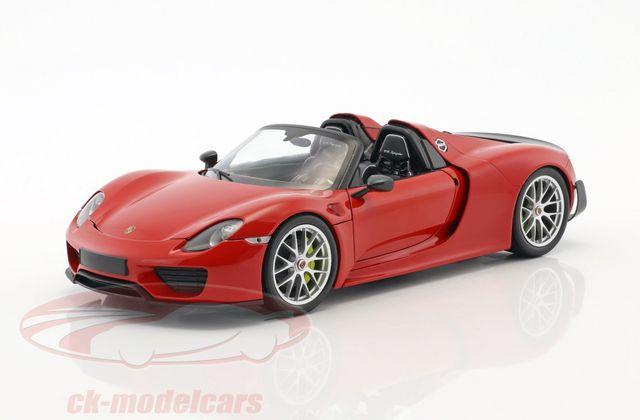 Bon plan : La Porsche 918 Spyder Minichamps au 1/18 à 79,95 €