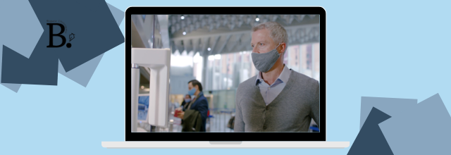 Faster, touchless airport experience