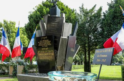 16 Juillet 2021Commémoration de la Rafle du Vel' d'Hiv du 16 juillet 1942.