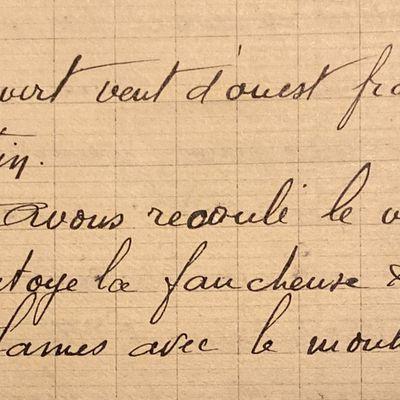 Jeudi 10 mai 1951 - recouper le vin