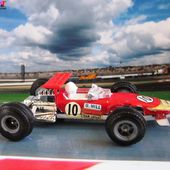 F1 LOTUS 49B PILOTE GRAHAM HILL CADEAU ELF FORMULE 1 LOTUS FORMULA ONE - car-collector.net