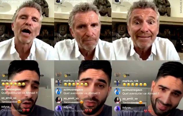 Denis Brogniart recadre Ahmad lors d'un Facebook live ! (Vidéo) #KohLanta