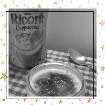 Crème brûlée au Ricoré Cappuccino