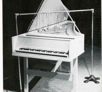 Clavecin préparé @ Joe Jones. 1960