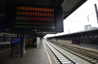 Grève des cheminots belges : forte mobilisation en Wallonie