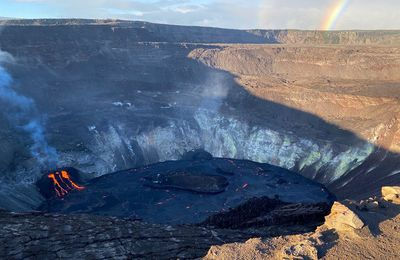 News from Kilauea and Cumbre Vieja de La Palma.