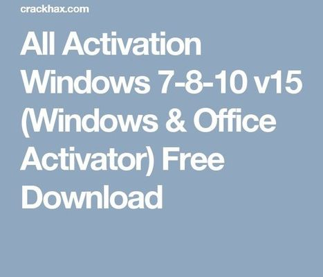Microsoft Office 2013 32 Bits Preactivated Torrent Download
