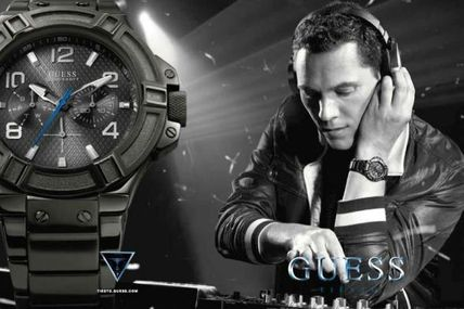 Tiësto new partnership with GUESS, shop, cd, concert and more....