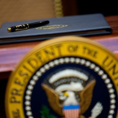 Erasing Trump's Legacy With the Stroke of a Pen