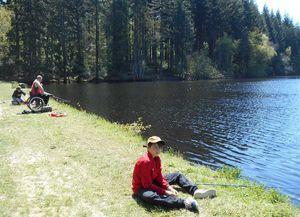Développement, dans un esprit d'essor touristique, de la pêche à la mouche dans un étang proche d'Autun