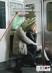 Stop-Ça suffit: une campagne contre le harcèlement sexiste dans les transports