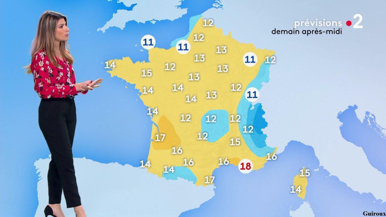 Chloé Nabédian 17/04/2021 Journaux météo du soir