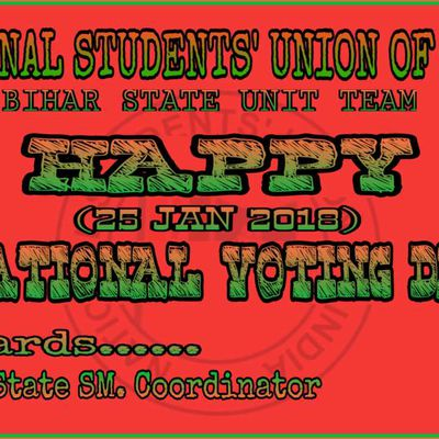 NATIONAL VOTING DAY