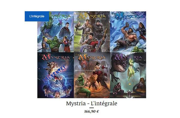 La saga Mystria integrale rainfolk
