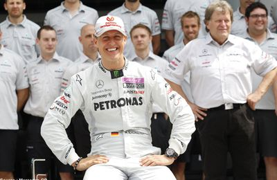 Michael Schumacher prend sa seconde retraite