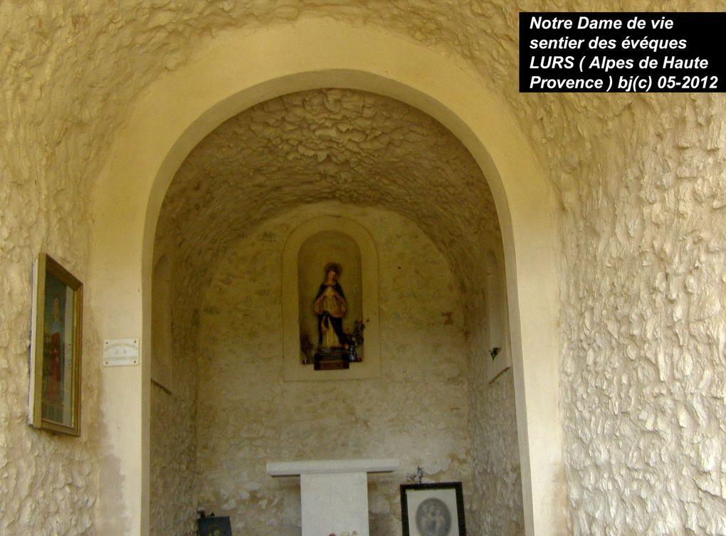 3éme ETAPE - chapitre 3 - GANAGOBIE à LURS - du prieure au village de LURS