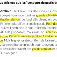 Du vin dans des pesticides... Hips ! Une étude « scientifique » sur les pesticides dans le vin