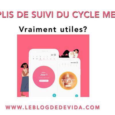 Les applis de suivi du cycle menstruel : vraiment utiles ?