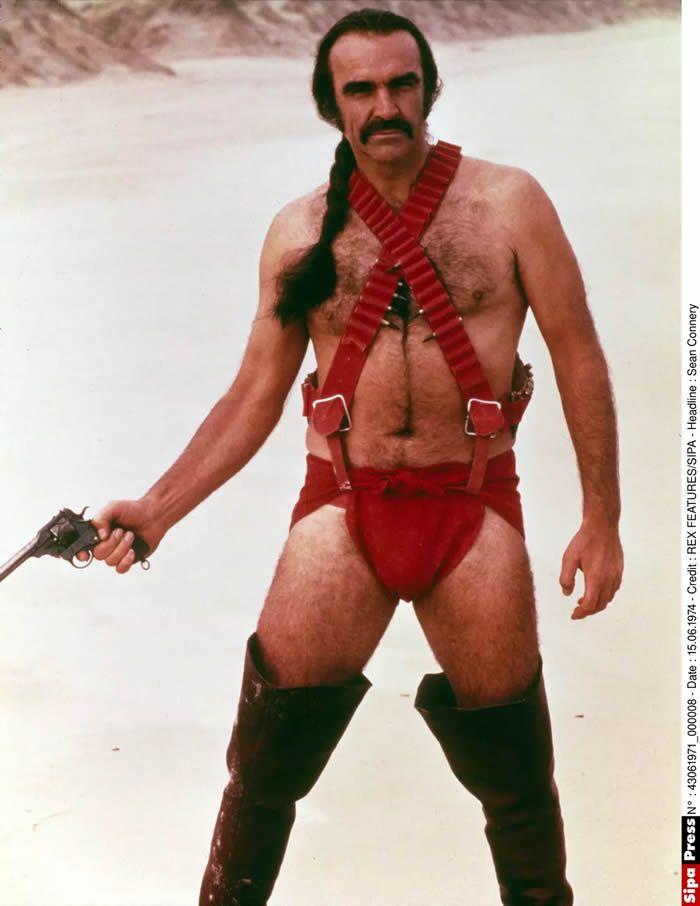 "Sean Connery jouant Zed dans ""Zardoz"" © REX FEATURES/SIPA"
