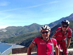 Semaine Club en CORSE... Au programme, de très beaux paysages et sept étapes où nous avons fait 700 km pour 10 000 m de dénivelé..