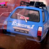 FASCICULE N°92 PEUGEOT 504 DANGEL 4X4 RADIO EUROPE 1 IXO 1/43. - car-collector.net