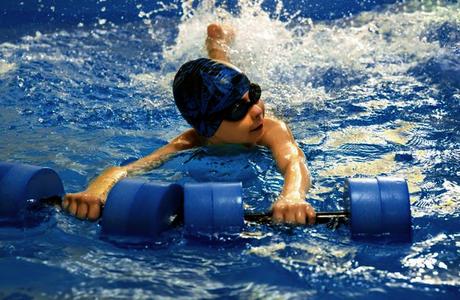 Lunettes de natation pour enfant hypermétrope