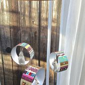 Giveaway- Washi Tape and how to make a recycled container mobile